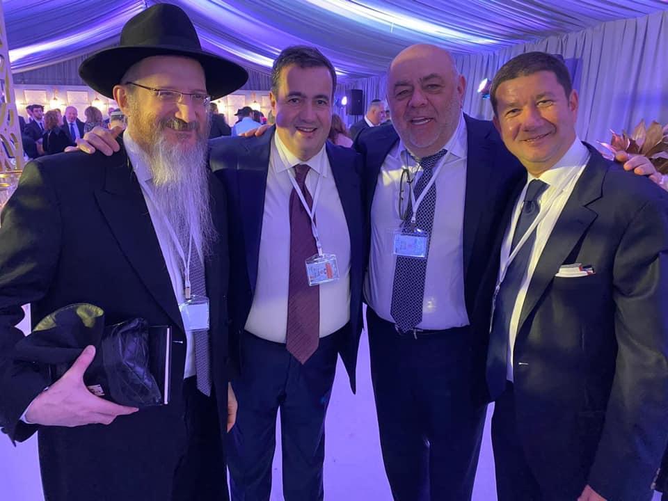 Сотрудничество и активное участие в работе еврейских международных организаций